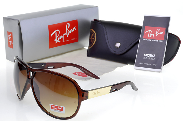 New Arrivals Ray Ban Marrón Frame Gafas De Sol