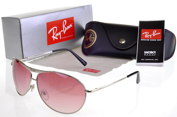 Ray Ban Gafas De Sol In Rosa Lense Fashion Style