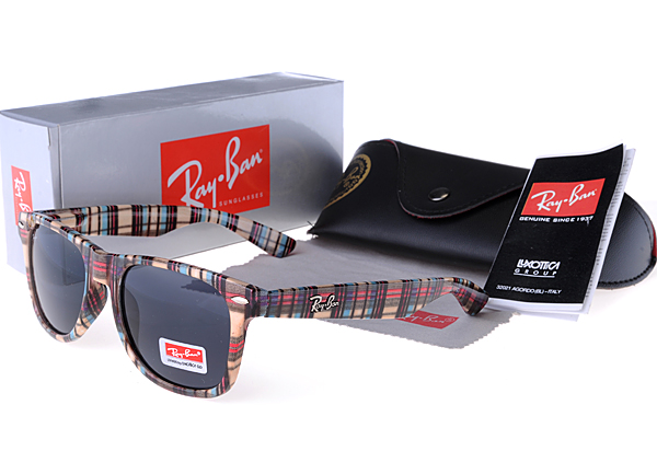 RB2132 New Colorful Grid Wayfarer Gafas De Sol