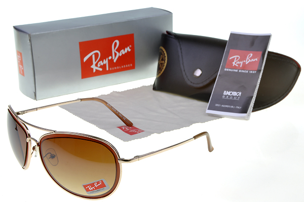 Ray Ban Marrón Plata Gafas De Sol New Arrivals