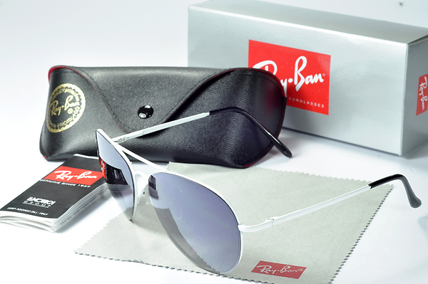 Ray Ban Gafas De Sol New Arrivals Blanco Metal Frame