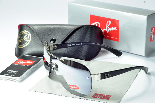 Ray Ban New Luzweight Negro Acetate Handles D-square Lens Gafas De Sol