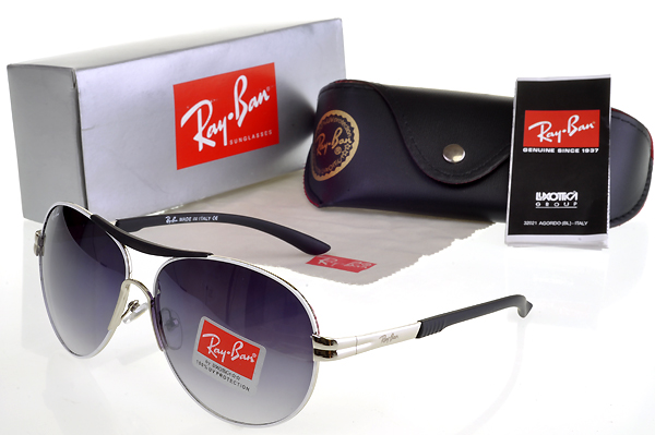 Ray Ban New Púrpura Stylish Gafas De Sol