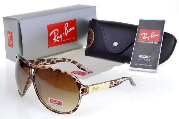 New Arrivals Ray Ban Leopard Vogue Gafas De Sol