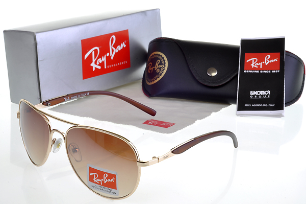 Ray Ban Gafas De Sol New Arrivals Stylish Marrón Lens