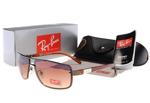 New Arrivals Ray Ban Gafas De Sol Square Brwon Frame